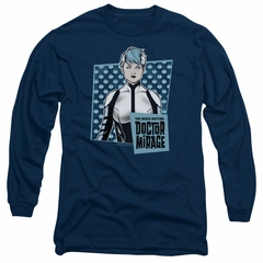 Doctor Mirage Long Sleeve Shirt Good Doctor Navy Tee T-Shirt