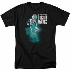 Doctor Mirage Shirt Crossing Over Black T-Shirt