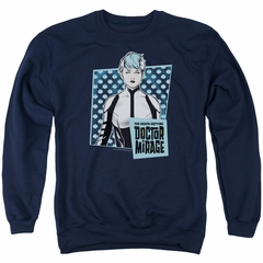Doctor Mirage Sweatshirt Good Doctor Adult Navy Sweat Shirt