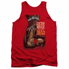 Doctor Mirage Tank Top Talks To The Dead Red Tanktop