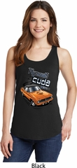 Dodge 1970 Plymouth Hemi Cuda Ladies Tank Top