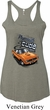 Dodge 1970 Plymouth Hemi Cuda Ladies Tri Blend Racerback Tank Top