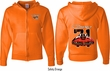 Dodge 1971 Charger (Front & Back) Full Zip Hoodie