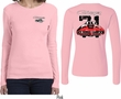 Dodge 1971 Charger (Front & Back) Ladies Long Sleeve