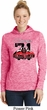 Dodge 1971 Charger Ladies Moisture Wicking Hoodie
