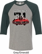Dodge 1971 Charger Mens Raglan Shirt
