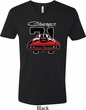 Dodge 1971 Charger Mens V-Neck Shirt