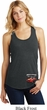 Dodge American Made Muscle Bottom Print Ladies Racerback Tank Top