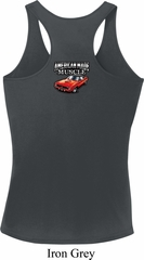 Dodge American Made Muscle Neck Print Ladies Dry Wicking Racerback