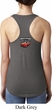 Dodge American Made Muscle Neck Print Ladies Ideal Tank Top