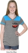 Dodge American Made Muscle Pocket Print Girls Football Shirt