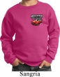 Dodge American Made Muscle Pocket Print Kids Sweat Shirt