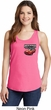 Dodge American Made Muscle Pocket Print Ladies Tank Top