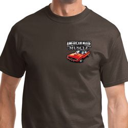 Dodge American Made Muscle Pocket Print Mens Shirts