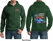 Dodge American Muscle Blue and Red (Front & Back) Hoodie