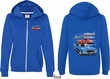 Dodge American Muscle Blue and Red (Front & Back) Ladies Full Zip