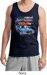 Dodge American Muscle Blue and Red Mens Tank Top