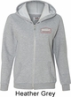 Dodge Brothers Pocket Print Ladies Full Zip Hoodie