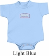 Dodge Brothers Small Print Baby Onesie