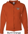 Dodge Challenger 1974 Pocket Print Mens Full Zip Hoodie