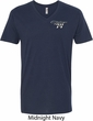 Dodge Challenger 1974 Pocket Print Mens V-Neck Shirt