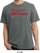 Dodge Challenger SRT Silhouette Pigment Dyed T-shirt