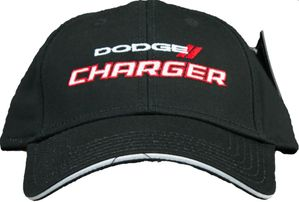 Dodge Charger Hat Cap with Embroidered Stitching