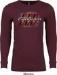 Dodge Charger RT Logo Long Sleeve Thermal Shirt