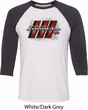 Dodge Charger RT Logo Mens Raglan Shirt