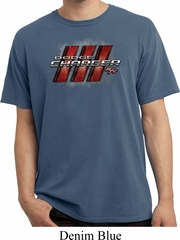 Dodge Charger RT Logo Pigment Dyed Shirt