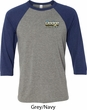 Dodge Dart Pocket Print Mens Raglan Shirt