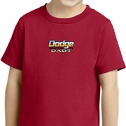 Dodge Dart Small Print Kids Shirts