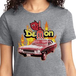 Dodge Demon Ladies T-shirt