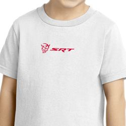 Dodge Demon SRT Logo Small Print Shirts