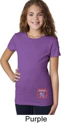 Dodge Garage Bottom Print Kids Shirts
