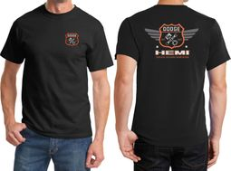 Dodge Garage Hemi Front & Back Shirts