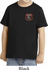 Dodge Garage Pocket Print Toddler Shirt