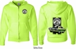 Dodge Green Super Bee (Front & Back) Full Zip Hoodie