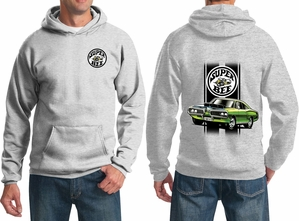 Dodge Green Super Bee (Front & Back) Hoodie