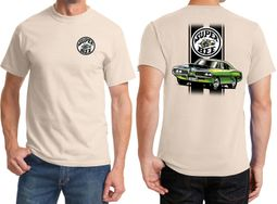 Dodge Green Super Bee Front & Back Shirts
