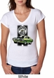 Dodge Green Super Bee Ladies Tri Blend V-Neck Shirt