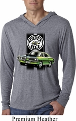 Dodge Green Super Bee Lightweight Hoodie Shirt