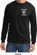Dodge Guts and Glory Ram Logo Pocket Print Long Sleeve Shirt