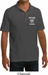 Dodge Guts and Glory Ram Logo Pocket Print Mens Pique Polo Shirt
