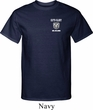 Dodge Guts and Glory Ram Logo Pocket Print Tall Shirt