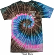 Dodge Guts and Glory Ram Logo Pocket Print Tie Dye Shirt