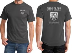 Dodge Guts and Glory Ram Logo Front & Back Shirts