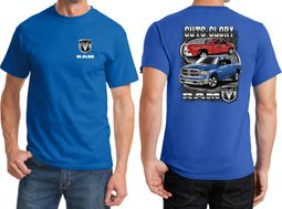 Dodge Guts Glory Ram Trucks Front & Back Shirts