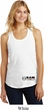 Dodge Hemi Bottom Print Ladies Racerback Tank Top