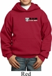 Dodge Hemi Pocket Print Kids Hoody